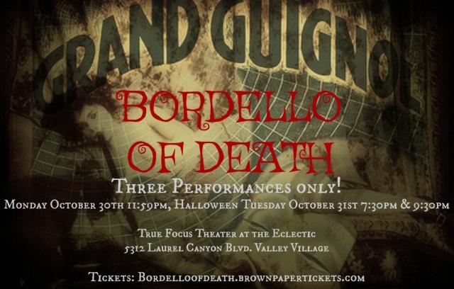 Bordello of Death postcard 1